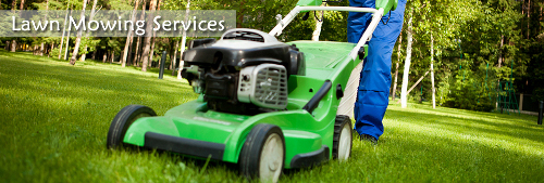 lawn mowing domestic commercial Cardiff